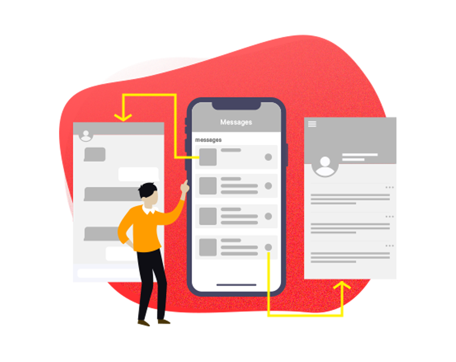 Wireframe & Interactive Prototyping Services